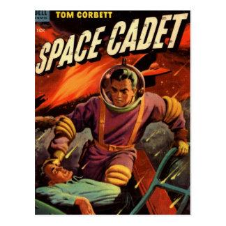 Space Cadet Postcard
