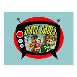 Space Cadet TV Postcard