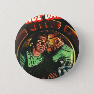 Space Cadets in Small Rocket 2 Inch Round Button