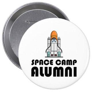 Space Camp Alumni 4 Inch Round Button