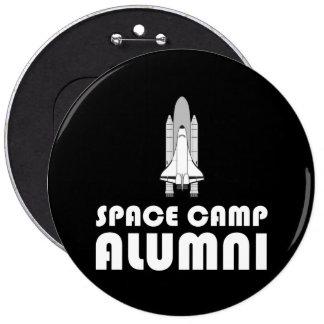Space Camp Alumni 6 Inch Round Button