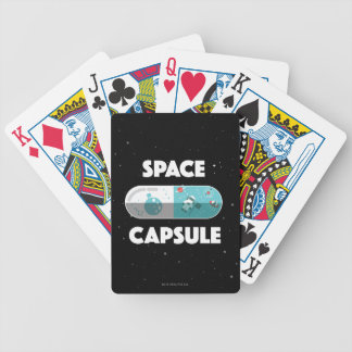 Space Capsule Bicycle Playing Cards