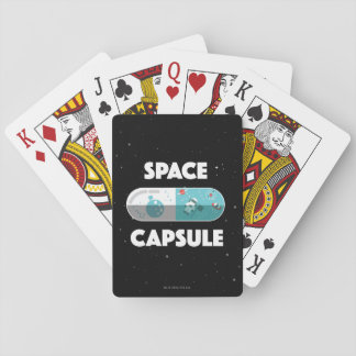 Space Capsule Poker Deck
