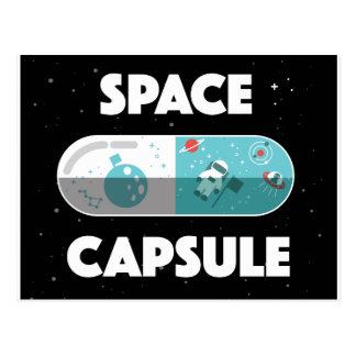 Space Capsule Postcard
