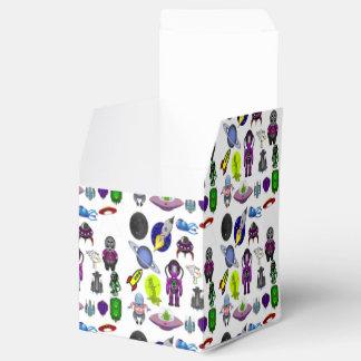 Space Cartoon Favor Box