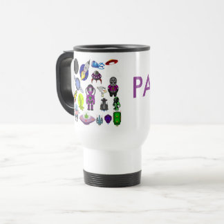 Space Cartoon Travel Mug