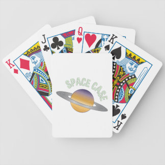 Space Case Bicycle Playing Cards
