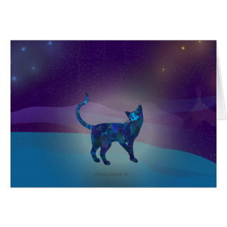 Space Cat 1 Card