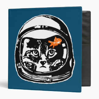 Space cat and the goldfish binder