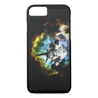 Space Cat - Don't Lose Hope iPhone 7 Case