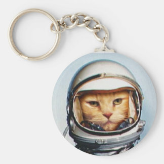 Space Cat Keychain