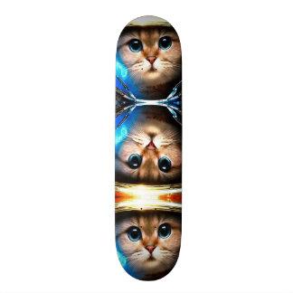 Space Cat Metropolis Custom Pro Park Board Skateboard
