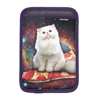 Space cat pizza iPad mini sleeves