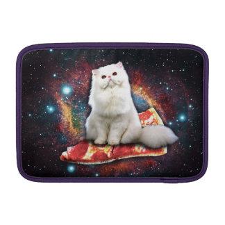 Space cat pizza MacBook air sleeves
