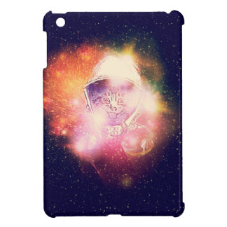Space Cat Portrait2 iPad Mini Cover