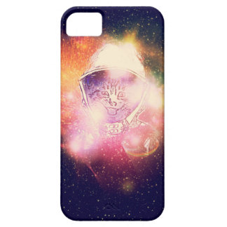 Space Cat Portrait2 iPhone 5 Case