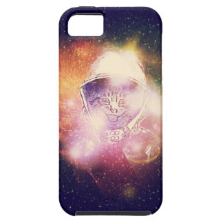 Space Cat Portrait2 iPhone 5 Cover