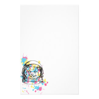 Space Cat Stationery
