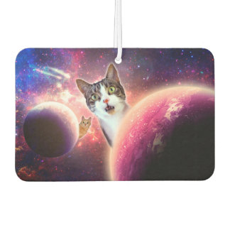 """Space Cats"" LOL Funny Car Air Freshener"