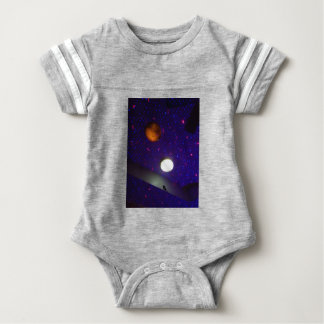 Space Ceiling Baby Bodysuit