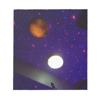 Space Ceiling Notepad