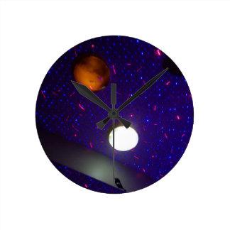 Space Ceiling Wall Clocks