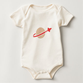 Space Classic Logo for Baby/Infant Baby Bodysuit