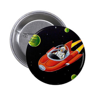 SPACE COUPE 2 INCH ROUND BUTTON