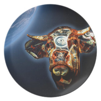 Space cow plate