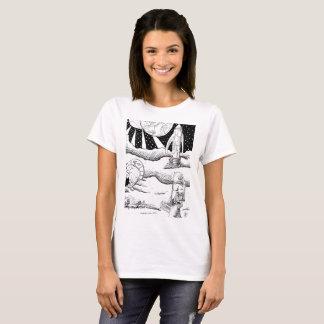 Space Crash B&W T-shirt
