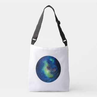 Space Custom All-Over-Print Cross Body Bag