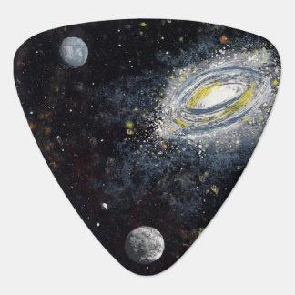 SPACE (design 8) - Guitar Pick