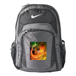 space - doge - shibe - wow doge backpack