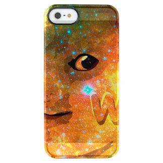 space - doge - shibe - wow doge clear iPhone SE/5/5s case
