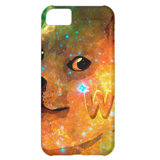 space - doge - shibe - wow doge cover for iPhone 5C
