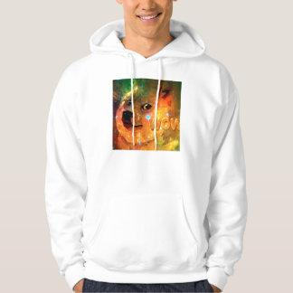 space - doge - shibe - wow doge hoodie