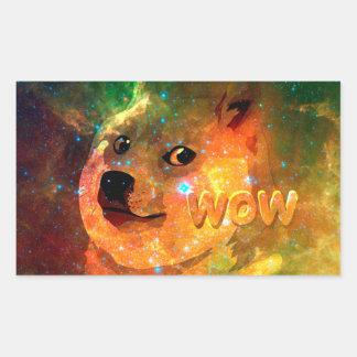 space - doge - shibe - wow doge sticker