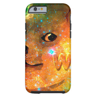 space - doge - shibe - wow doge tough iPhone 6 case