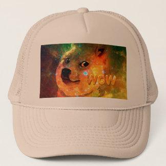 space - doge - shibe - wow doge trucker hat