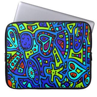 Space Doodle #1 Laptop Sleeve