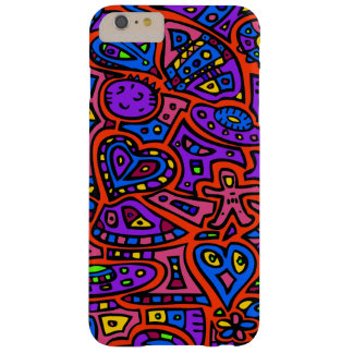 Space Doodle #3 Barely There iPhone 6 Plus Case
