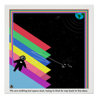 Space Dust Poster
