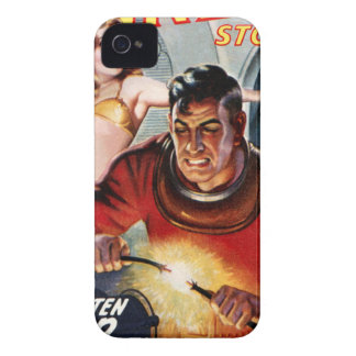 Space Electrician iPhone 4 Cases