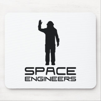 Space Engineers Mousepad White