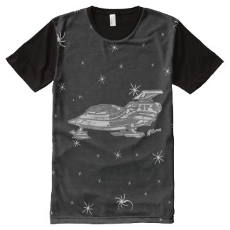 Space Fighter 67 Black & White 1