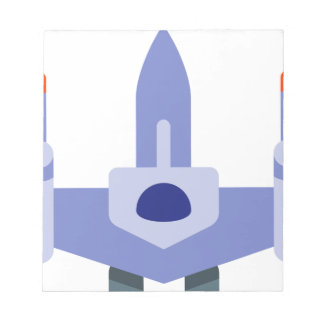 Space Fighter Notepad