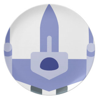 Space Fighter Plate
