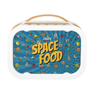 Space Food Lunch Box