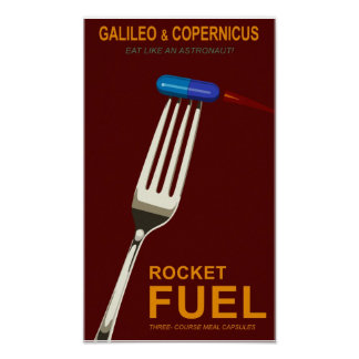 Space food poster