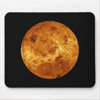 Space Full Color Photo of the Planet Venus Mouse Pad